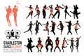 Charleston Dance Clipart Colle...