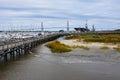 Charleston Harbor Resort Royalty Free Stock Photo