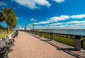 Charleston park waterfront in downtown south carolina Royalty Free Stock Photos