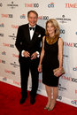 Charlie rose amanda burden new york apr talk show host l and attend the time gala celebrating its time issue of the most Stock Images