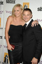 Charlize Theron,Jeremy Renner Royalty Free Stock Image