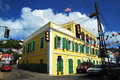Charlotte Amalie Streets Royalty Free Stock Image