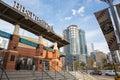 Charlotte Knights Ballpark Royalty Free Stock Photo