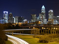 Charlotte Skyline Stock Photos