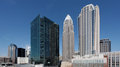 Charlotte Skyline Royalty Free Stock Images