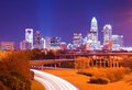 Charlotte Uptown Cityscape