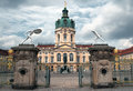 Charlottenburg palace entrance berlin germany Royalty Free Stock Image
