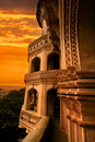 Charminar with evening sky Royalty Free Stock Image