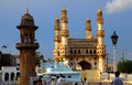 Charminar hyderabad india august in hyderabad on august is listed among the most recognized structures in india built in Royalty Free Stock Images