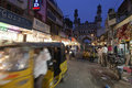 Charminar hyderabad india char minar at at evening Stock Images