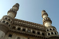 Charminar mosque hyderabad in india Royalty Free Stock Photography