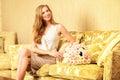 Charming lady Royalty Free Stock Photo