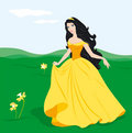 Charming princess Royalty Free Stock Images