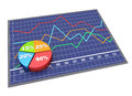 Chart and graphs Stock Images
