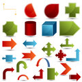 Chart Shapes Royalty Free Stock Images