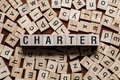 Charter word concept
