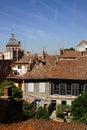 Chartreux des houses παλαιά Pierre στέγη Άγιος Τουλούζη Στοκ εικόνα με δικαίωμα ελεύθερης χρήσης