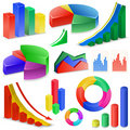 Charts and Graphs Royalty Free Stock Image