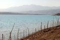 Charvak reservoir in Uzbekistan Royalty Free Stock Photo