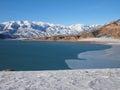 Charvak Reservoir Royalty Free Stock Photo
