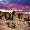 Charyn canyon in Kazakhstan Royalty Free Stock Photography