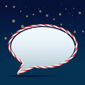 Chat bubble vector stylish design Royalty Free Stock Photo