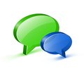 Chat or website support concept Royalty Free Stock Photography