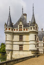 Chateau Azay-le-Rideau, earliest French chateaux Royalty Free Stock Photography