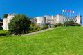Chateau caen under clear sky Royalty Free Stock Photography