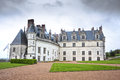 Chateau d'Amboise in the Loire Valley, France Stock Photography