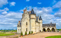 Chateau d`Amboise, one of the castles in the Loire Valley - France Royalty Free Stock Photo