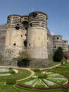 Chateau d'Angers Royalty Free Stock Images