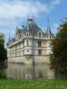 Chateau d'Azay le Rideau Stock Photo
