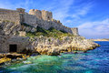 Chateau d if castle on an island in marseilles france famous through dumas novel the count of monte cristo Royalty Free Stock Images