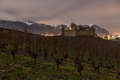 Chateau de Aigle, Vaud, Switzerland Stock Photo