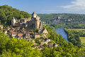 Chateau de Castelnaud Royalty Free Stock Photo