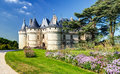 Chateau de chaumont sur loire france this castle is located in the valley was founded in the th century and was rebuilt in Royalty Free Stock Image