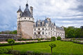 Chateau de Chenonceau, Loire Valley, France Royalty Free Stock Image