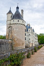 Chateau de Chenonceau, Loire Valley, France Royalty Free Stock Photography