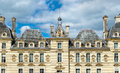 Chateau de Cheverny, one of the Loire Valley castles in France Royalty Free Stock Photo