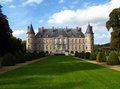 Chateau de Haroue, France Stock Images