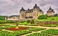 Chateau de la Roche Courbon in Charente-Maritime Royalty Free Stock Photo