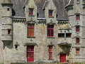 Chateau de Lanrigan ( France ) Stock Images