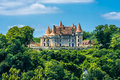 Chateau de Marzac perigord tursac france Royalty Free Stock Photography