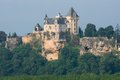 Chateau de montfort france biron in perigord Stock Photos