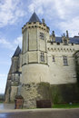Chateau de Saumur, Loire Valley, France Royalty Free Stock Photos