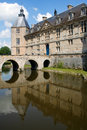 Chateau de Sully Royalty Free Stock Images