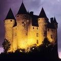 Chateau de val Stock Photos