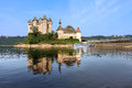 Chateau de val france in auvergne Royalty Free Stock Image