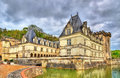 Chateau de Villandry, a castle in the Loire Valley, France Royalty Free Stock Photo